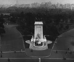 USS Maine Monument  Southwest Entrance to Central Park  Columbus Circle  1930