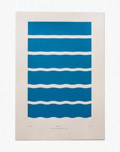 Waves - Limited Edition Screenprint