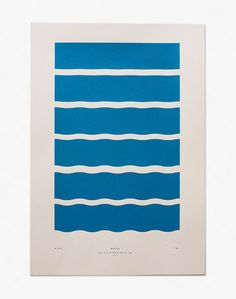 Waves - Limited Edition Screenprint