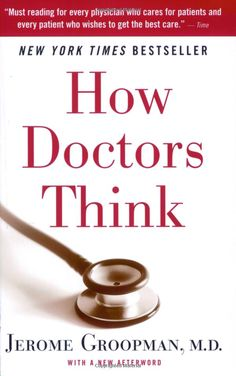 Very insightful, how Doctors make decisions and have relationships with their patients. Give it to your Doctor!