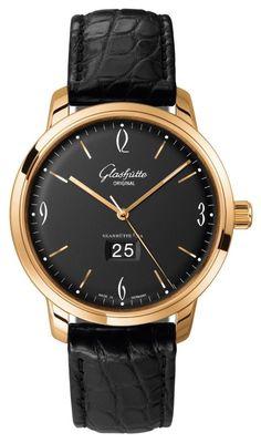 Gold watches men Glashutte Original