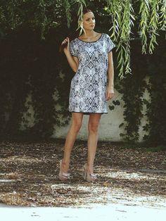 snake print sequin dress Snake Print, Sequin Dress, Personal Style, Sequins, Casual, Dresses, Fashion, Vestidos, Moda
