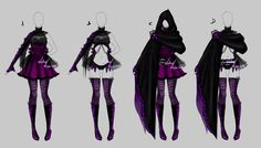 Hi folks! Commission outfit for dear For the texture I uded Sai brushes made by…