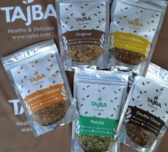 Five Variants of Tajba Granola Medium Size  Im in love with these.