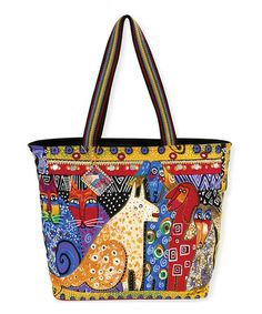 I love Laurel Burch...her styles have been my favorites since the 1960's      Yellow Large A Brighter Place Tote