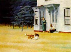 Edward Hopper, Cape Cod evening.