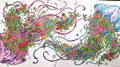 Pronto...Anémonas floridas  Donne...Flowery anemone •••••••••••••••••••••••••••••••••••••••••••••••••••••• #imagimorphia #color #coloringbook #derwent #derwentcoloursoft #newhobby #worldofcolor #kerbyrosanes #tilacolorstagram