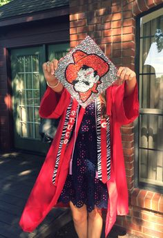 Graduation cap decorations - Oklahoma State University! Go Pokes!!