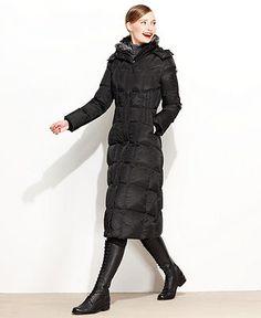 Love this long puffer coat! | My #MacysFavoriteThings | Pinterest