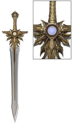 recreation of Archangel Tyrael's legendary weapon from Diablo