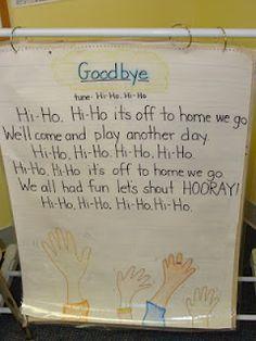 Goodbye song