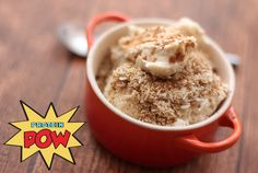 A Healthy High-Protein Apple Crumble? What Sort of Wizardry…