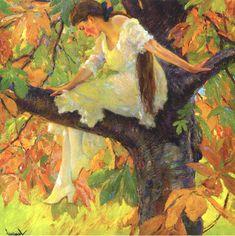 Edward Cucuel American 1875 - 1954 Wood Nymph