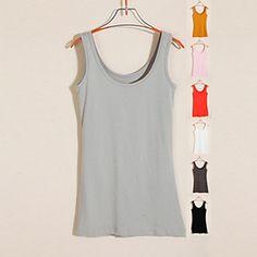 Womens Candy Color Vest