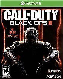 Call of Duty: Black Ops III 3 for Microsoft Xbox One (2015)  Sealed