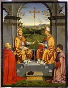 Timoteo Viti, I Santi Tommaso Becket e Martino / Senigallia