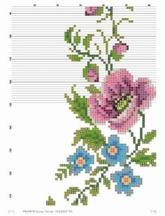 Prayer Rug, Embroidery Stitches, Diy And Crafts, Cross Stitch, Floral, Pattern, How To Make, Farmhouse Rugs, Poppies