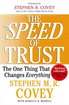 The Speed of Trust - this is a great book written by the son of the author of 7 Habits of Highly Effective People. This book was designed for business executives, however it is very helpful for anyone that manages money which we all do nowadays ♥