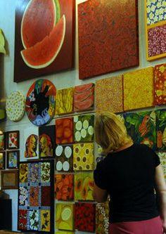 Handicrafts from Embú das Artes, São Paulo, Brazil