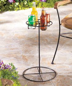 Outdoor Beverage Tables  Lakeside.com  $10