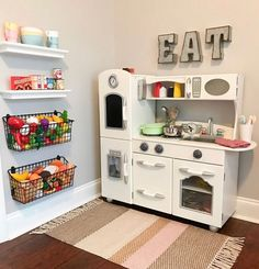 Small Playroom, Playroom Design, Playroom Decor, Boys Playroom Ideas, Little Girls Playroom, Toddler Playroom, Small Kids Playrooms, Play Room For Kids, Small Kids Rooms