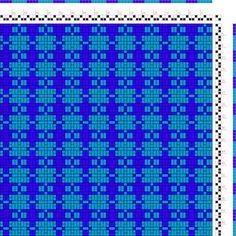 draft image: Figurierte Muster Pl. XVIII Nr. 7, Die färbige Gewebemusterung, Franz Donat, 2S, 2T
