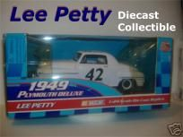 Lee Petty #42 Plymouth 1:24 Die Cast with free shipping