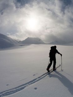 Skiing in the Backcountry: The Silent Sport