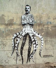 Freddie Mercury - pochoir street art