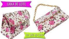 DIY | Bolsa Carteira Feita Com Caixa de Leite ♻