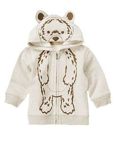 Bear Hoodie -also want this for my lil man
