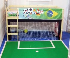 girls soccer bedroom  | Soccer Bedroom Accessories Theme Soccer Bedroom Accessories- only if I knew about it earlier