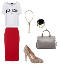Blouses Mango Necklace H&M Bag Zara Shoes, ring Aldo Skirt Dorothy Perkins