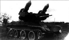 Czołg pościgowy RBT-5 - prototyp z rakietami niekierowanymi 152mm