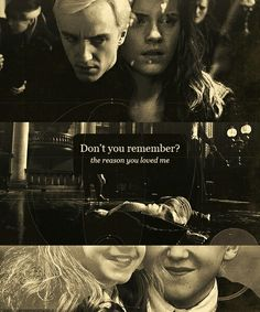 hp ship hermione e draco Harry Potter Love, Harry Potter Universal, Harry Potter Fandom, Harry Potter Memes, Harry Potter World, Dramione, Drarry, Draco And Hermione, Draco Malfoy