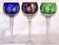 Hungarian cut to clear wine glasses