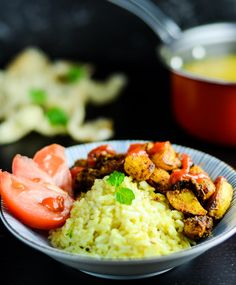 Lentils Curry Bowl With Spiced Potato