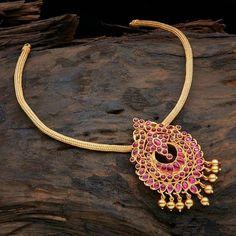 Traditional Attigai Necklace Designs, Light Weight Gold Attigai Designs, Latest Attigai Models.