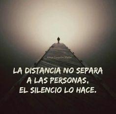 La distancia no separa a las personas