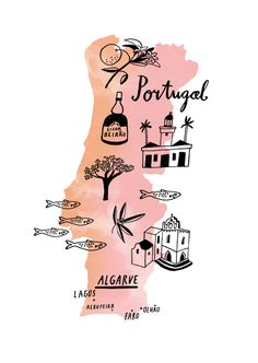 Portugal Map Print Portugal Printing And Lisbon Portugal - Portugal map to print