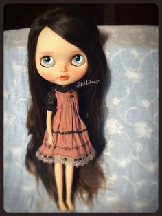OOAK Custom Blythe Art Doll by StableHouse