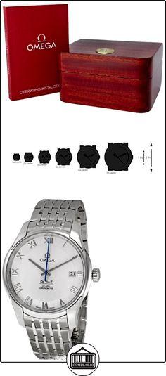 Omega 431.10.41.21.02.001 - Reloj de pulsera mujer, acero inoxidable  ✿ Relojes para mujer - (Lujo) ✿