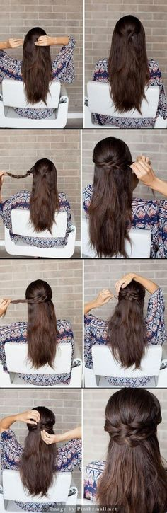 15 coiffures pour filles paresseuses