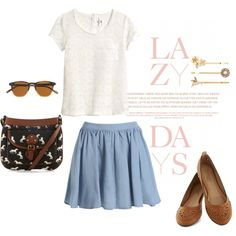 """lazy days"" by daniella-nagus on Polyvore"