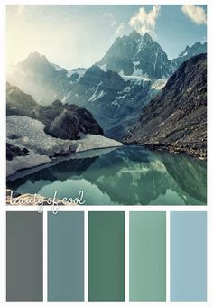these colors are easy, inviting, calm- it looks cool and crisp and like you can breath there.  It looks maybe more elegant than some of my more bold color schemes