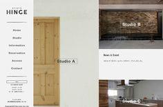 STUDIO HINGE | Web Design Clip