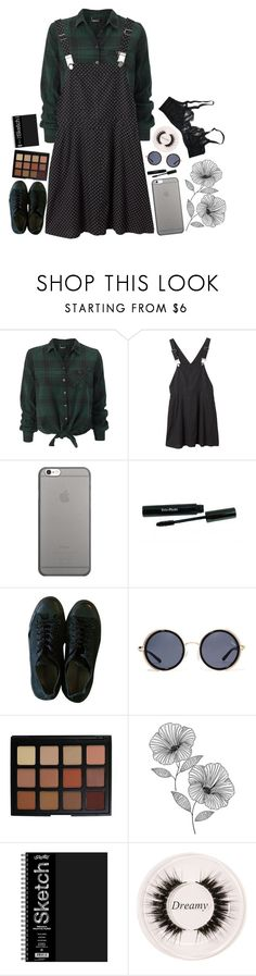 """""""everything you [didn't] want"""" by corruptedcolours ❤ liked on Polyvore featuring Monki, Native Union, Converse, Quay, Morphe, Wall Pops!, Certifeye and Agent Provocateur"""
