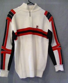 Vintage FILA sweater RARE old school gem by SerialMaterial on Etsy