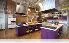 Eşsiz renk kombinasyonları mutfak için