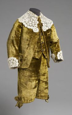 Philadelphia Museum of Art - Boy's Suit: Jacket, Waistcoat and Breeches  Made by Peter Robinson, London, founded 1833